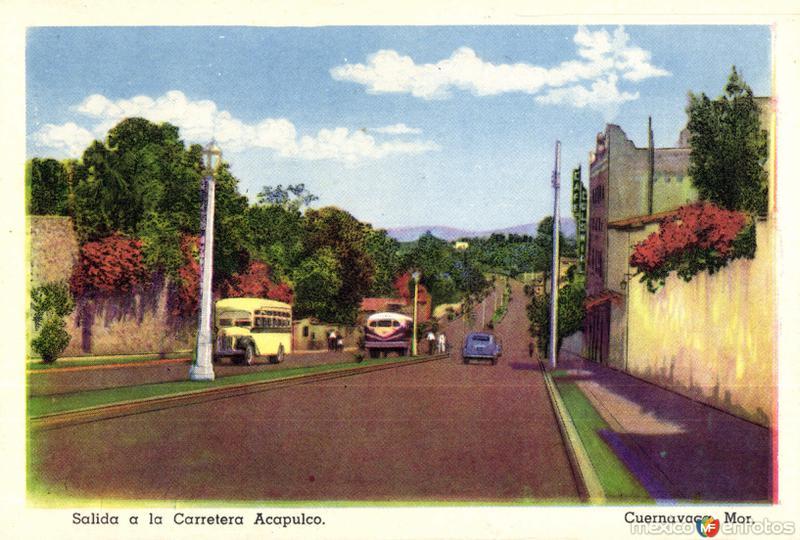 Salida a la Carretera a Acapulco