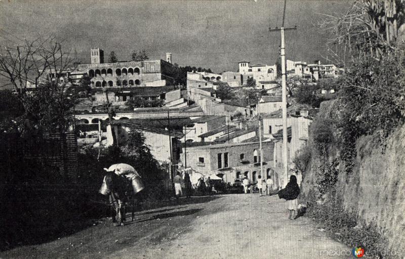 Salida de Cuernavaca hacia Cuautla