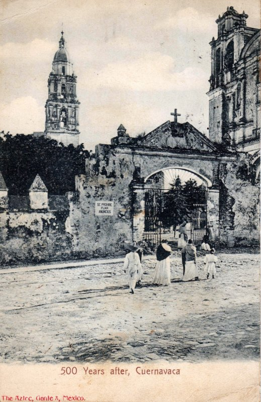 500 años despues, Catedral de Cuernavaca
