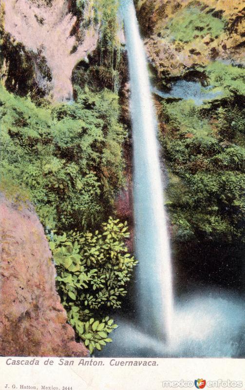 Cascada de San Antón