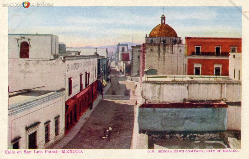 Calle en San Luis Potosí