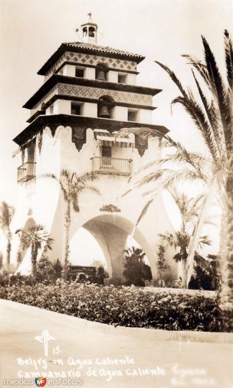 Torre Campanario de Agua Caliente