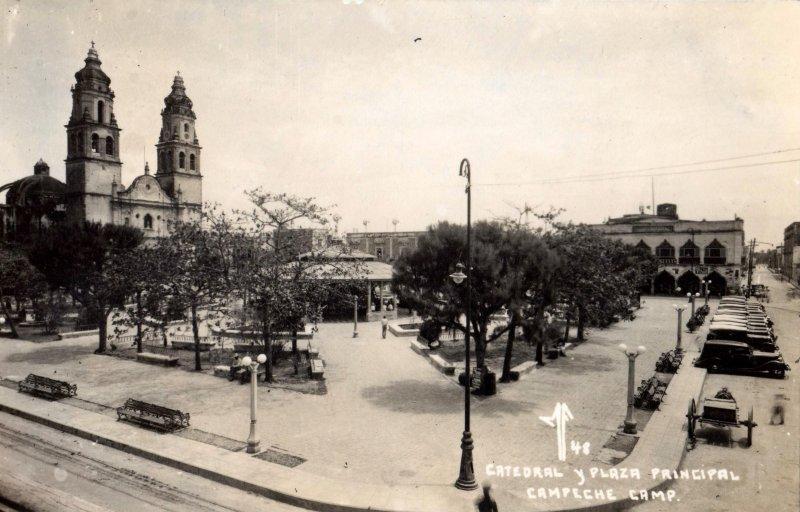 Catedral y Plaza Principal de Campeche