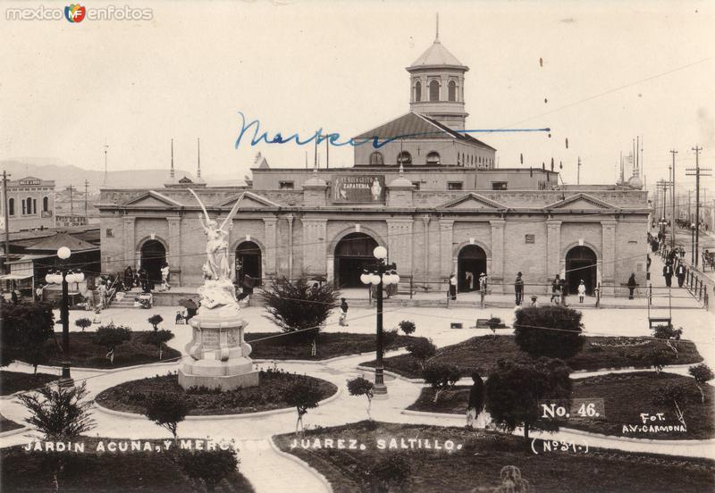 Jardín Acuña y Mercado Juárez