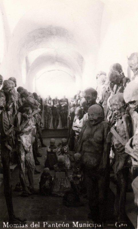 Momias del Panteón Municipal