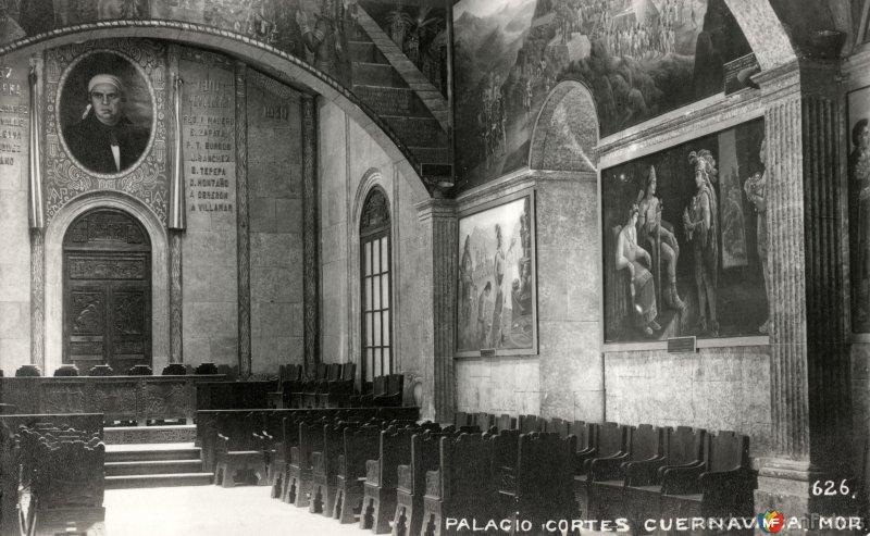 Interior del Palacio de Cortés