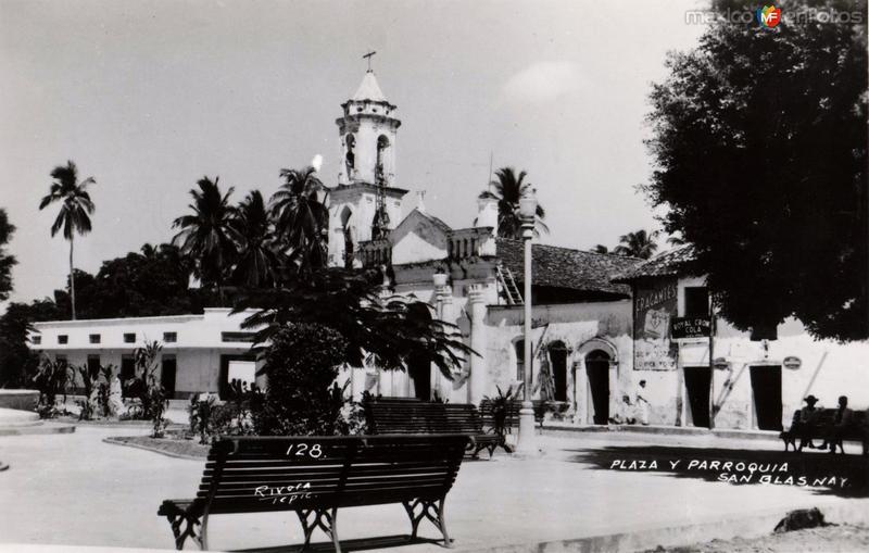 Plaza y Parroquia de San Blas