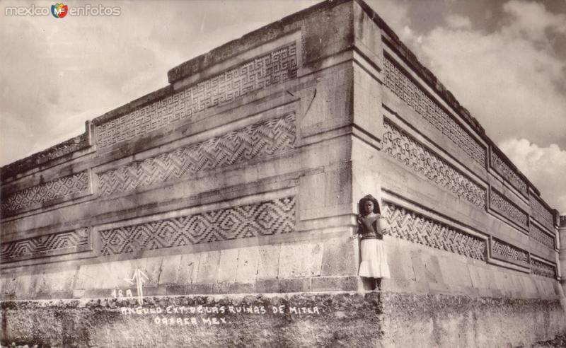 Angulo exterior de las Ruinas de Mitla