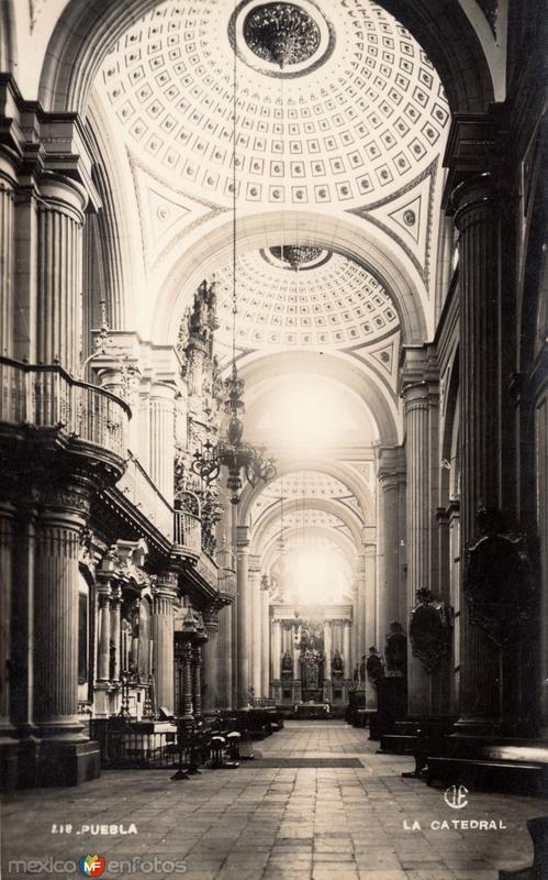 Interior de la Catedral de Puebla