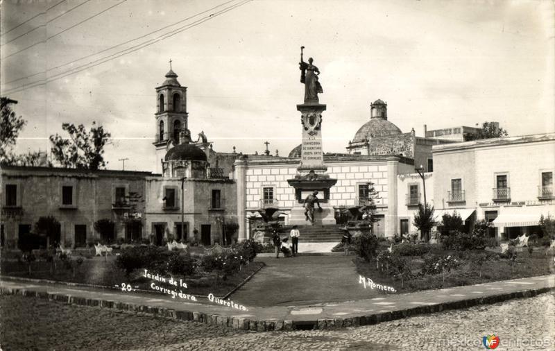 Jardín de la Corregidora