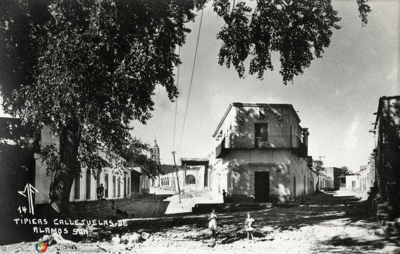 Calles típicas de Alamos