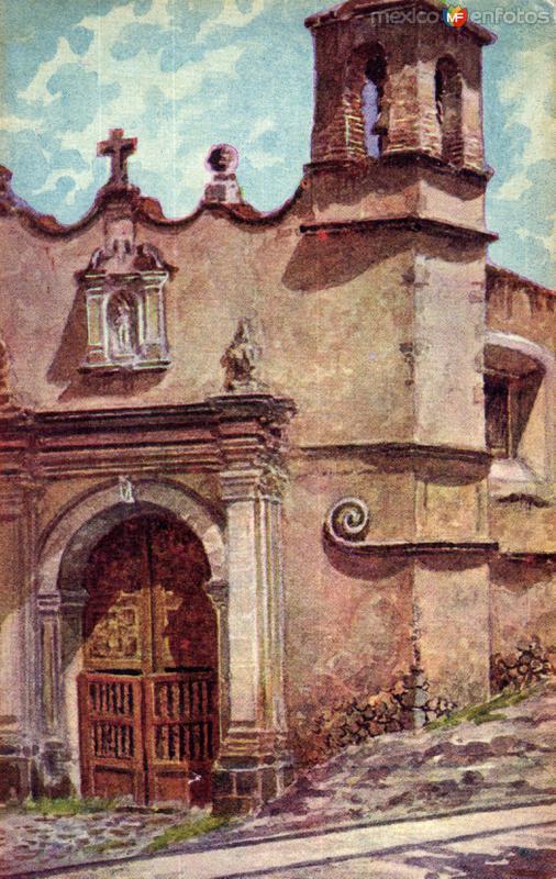 Capilla de Penzacola, en Coyoacán