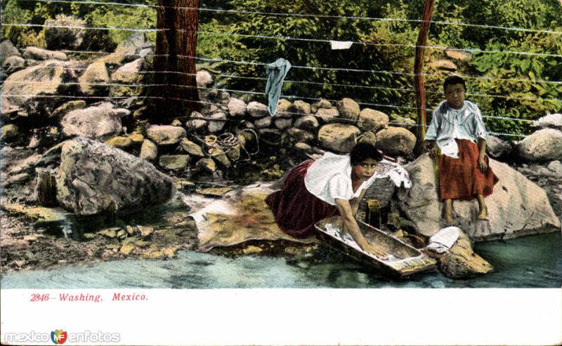 Lavandería mexicana