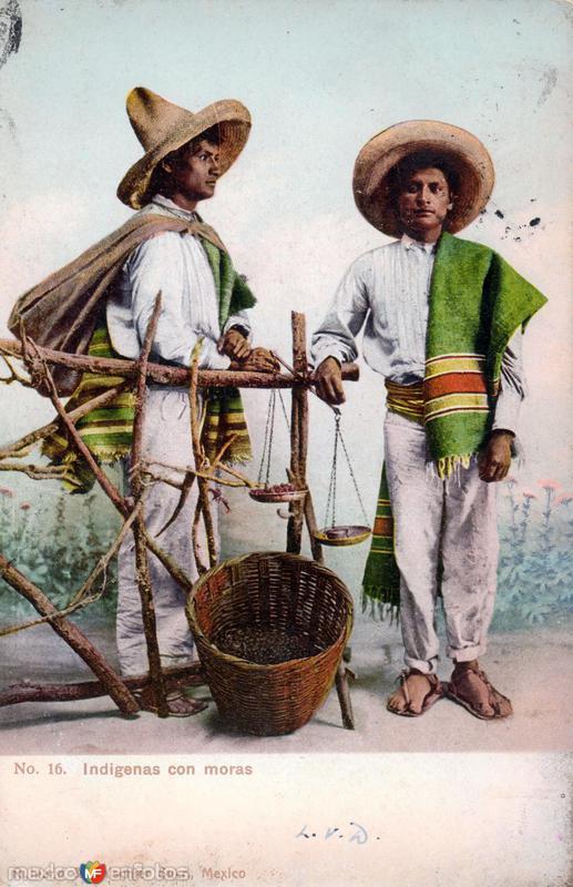 Indígenas con moras