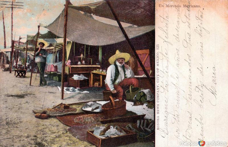 Un mercado mexicano