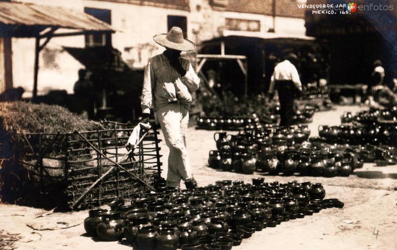 Vendedor de jarros