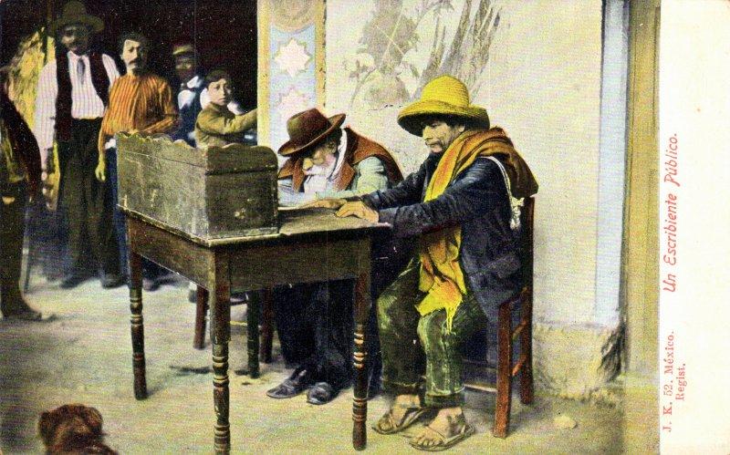 Un escribiente público