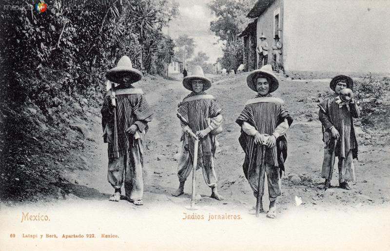 Indios jornaleros