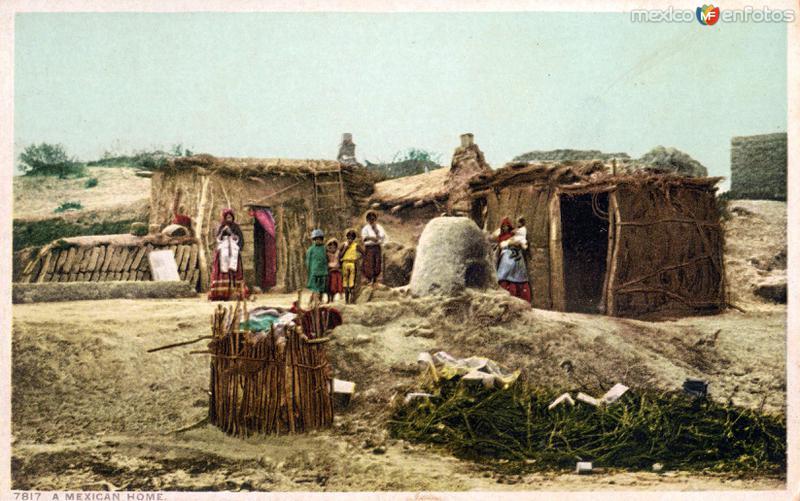 Una vivienda mexicana