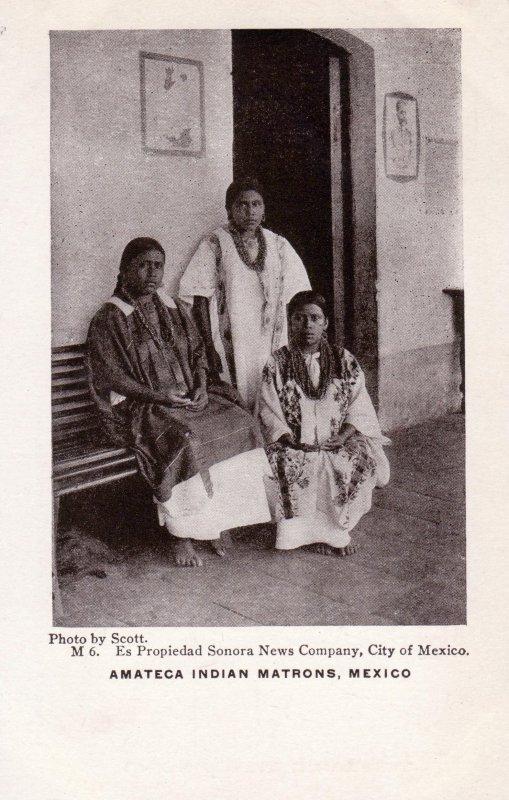 Indias matronas amatecas
