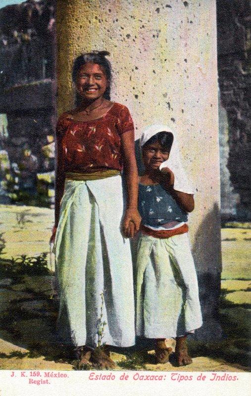 Tipos de indios de Oaxaca