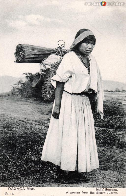 India de la Sierra de Juárez