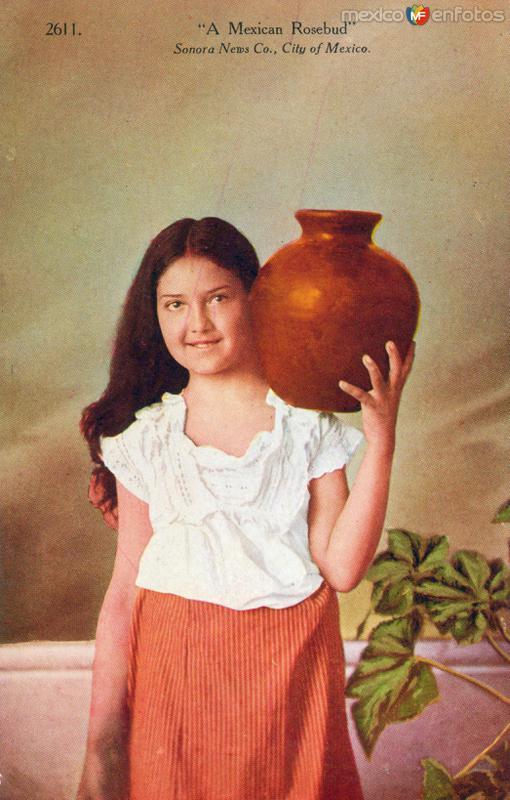 Una florecita mexicana