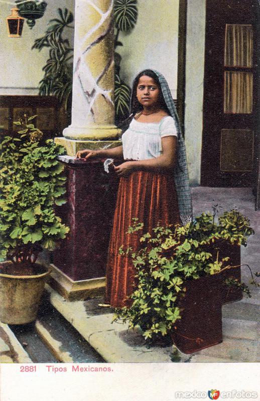 Tipos mexicanos: Señorita
