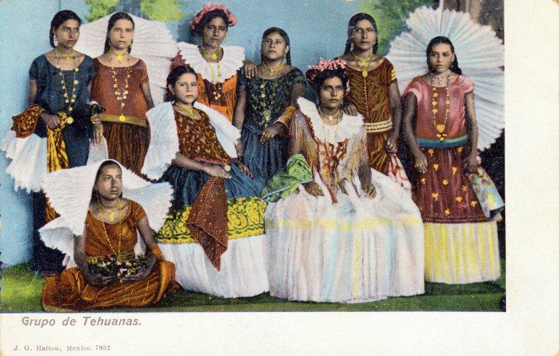 Grupo de Tehuanas
