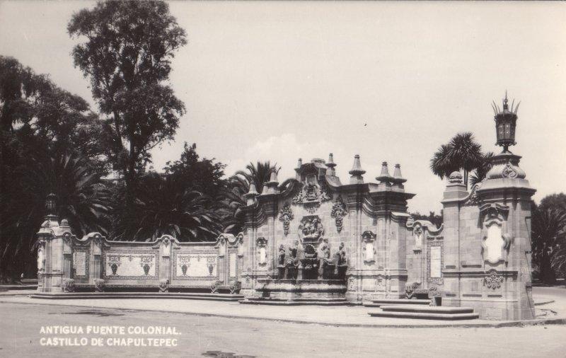 Antigua Fuente Colonial en Chapultepec