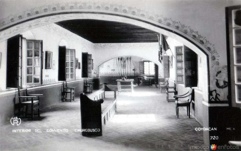 Interior del Convento de Churubusco