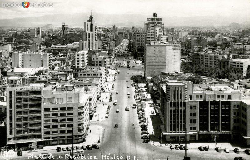 Vista Panorámica de la Ciudad de México