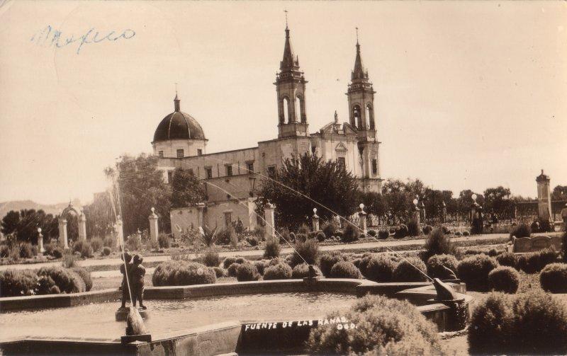 Iglesia de Los Ángeles y Fuente de Las Ranas