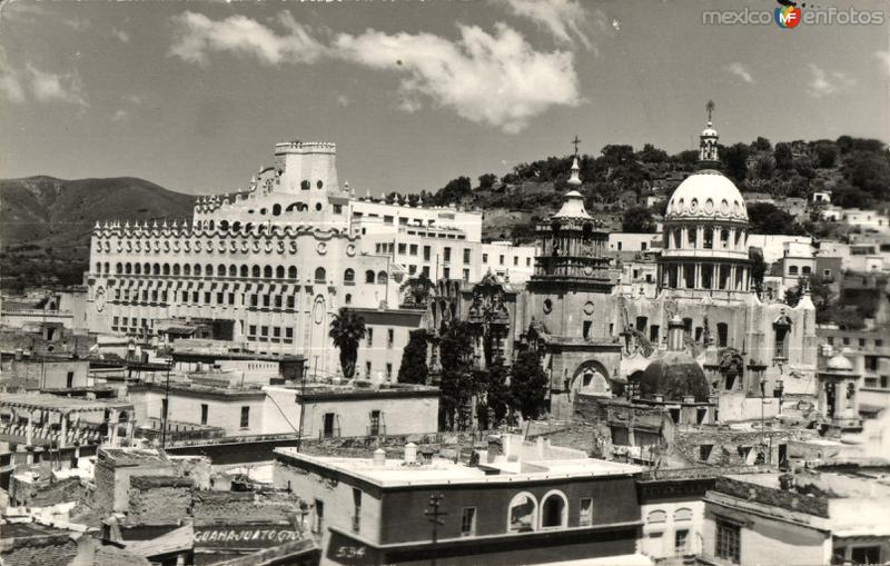 Panorámica de Guanajuato
