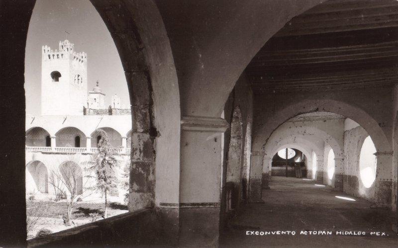 Interior del Convento de Actopan