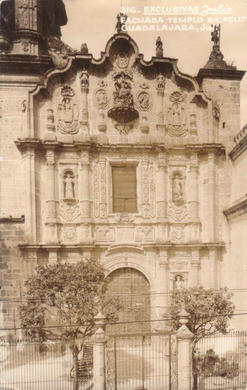 Fachada del Templo de San Felipe