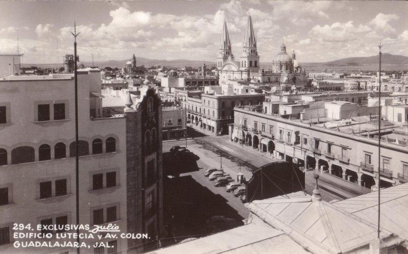 Edificio Lutecia y Avenida Colón