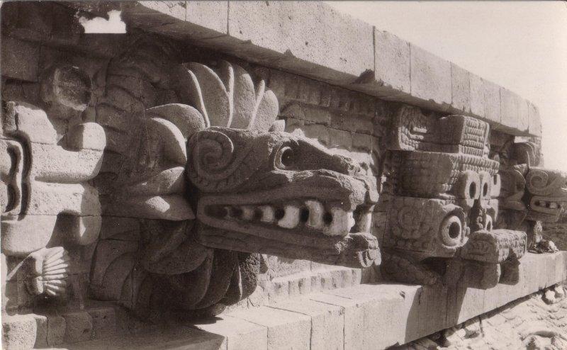 Detalles del Templo de Quetzalcoatl