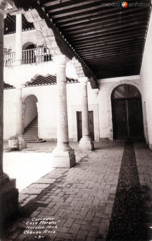 Corredor de la Casa Morelos