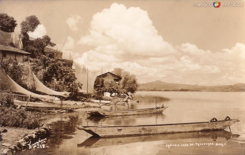 Janitzio. Lago de Pátzcuaro