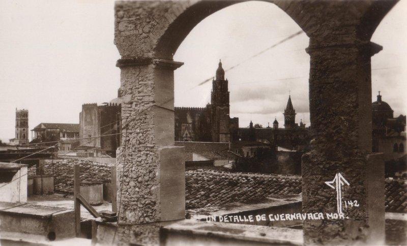 Un detalle de Cuernavaca