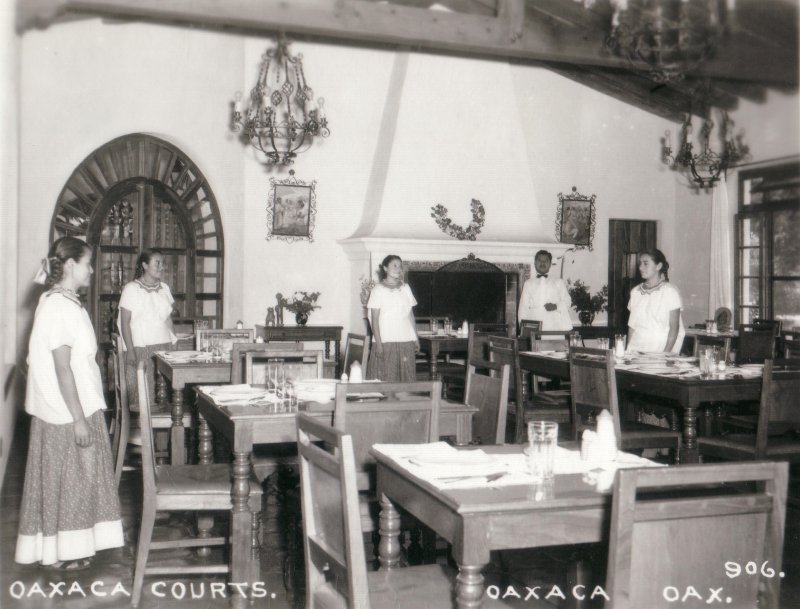 Restaurante del Hotel Oaxaca Courts