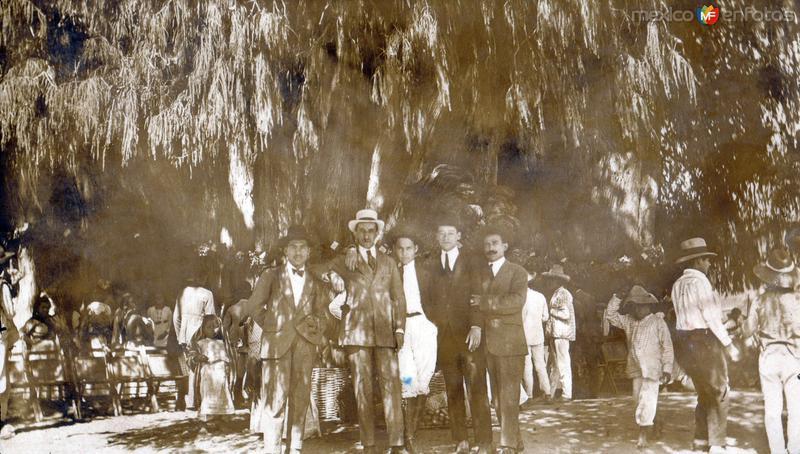 De visita en el Árbol de Tule
