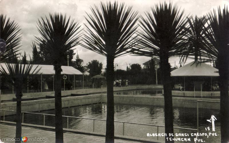 Alberca del Hotel Garci Crespo