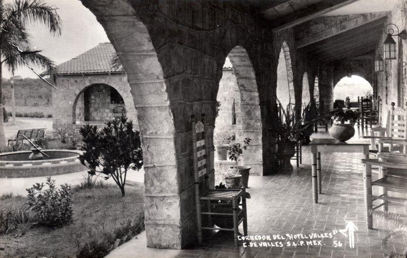 Corredor del Hotel Valles