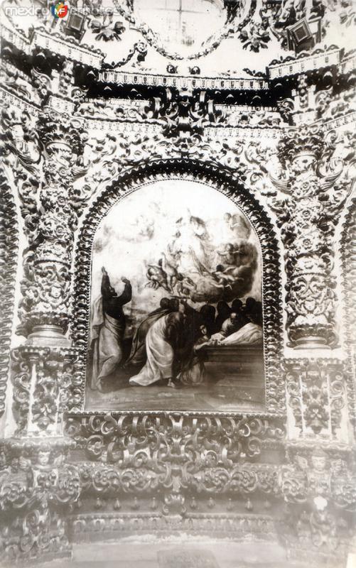 Camerín de la Virgen - Basílica de Ocotlán