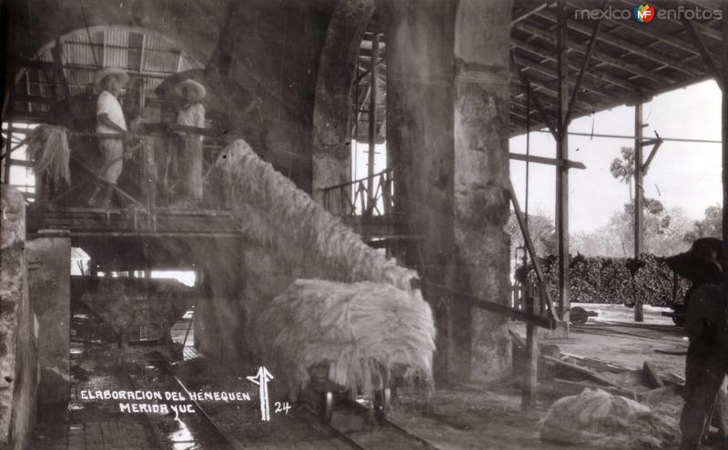 Fábrica de henequén