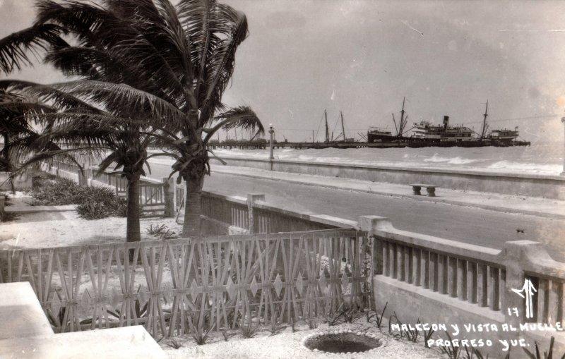 Malecón y vista al Muelle