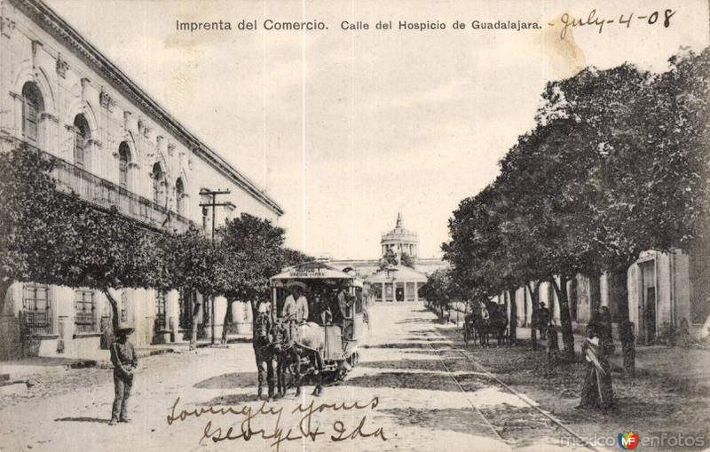 Calle del Hospicio de Guadalajara