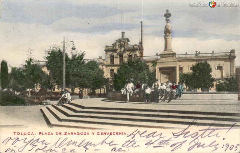 Plaza de Zaragoza y Cervecería